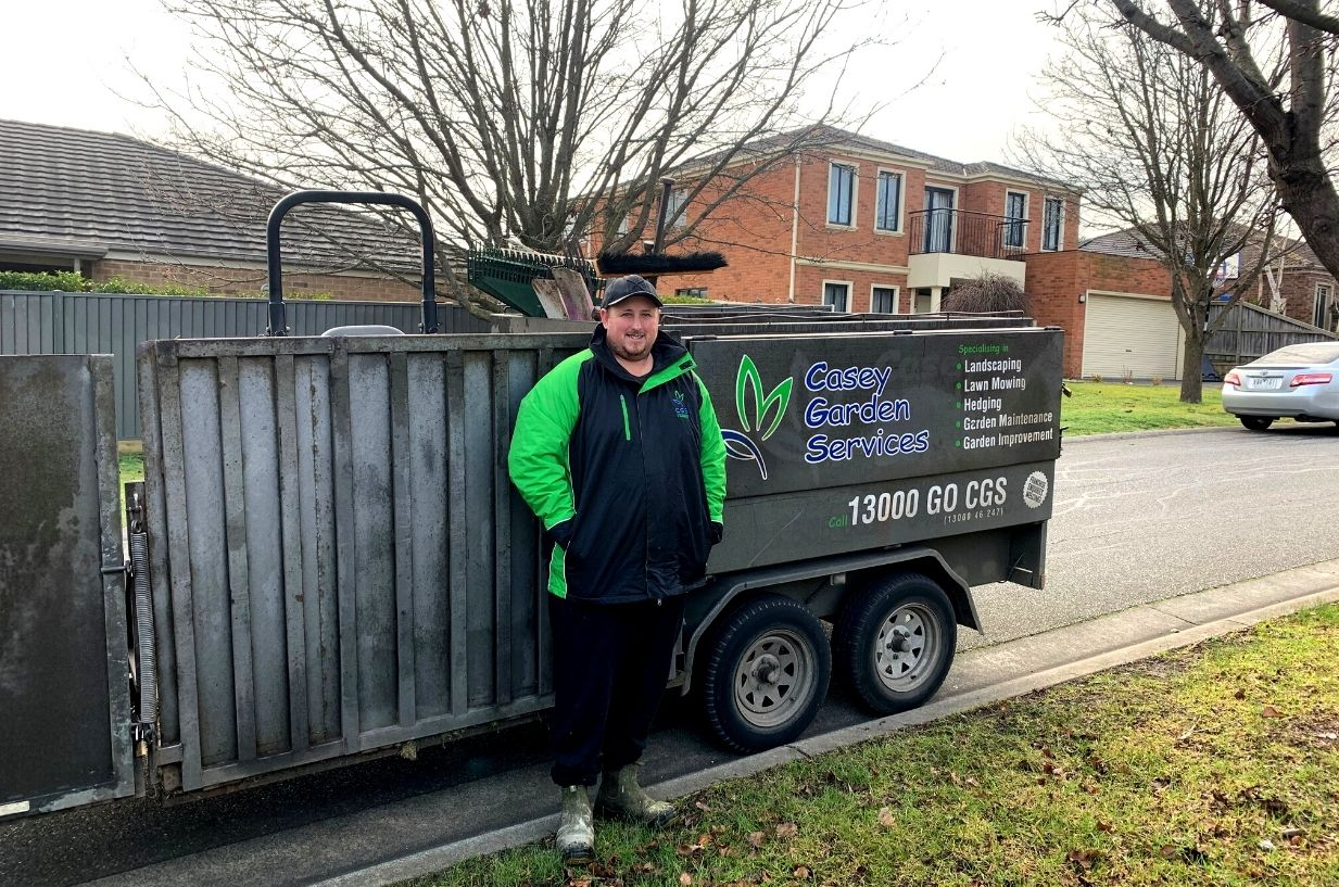 Luke offers gardening services in Cranbourne North and surrounds